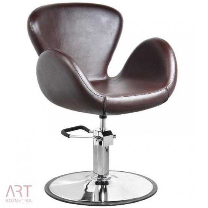 Frizerski stol HairART 1339qz   rjav