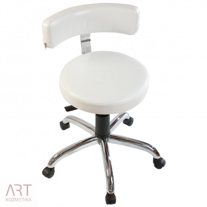 1-521 Ergonomski premium stol s kromiranim podnožjem proti rjavenju K10