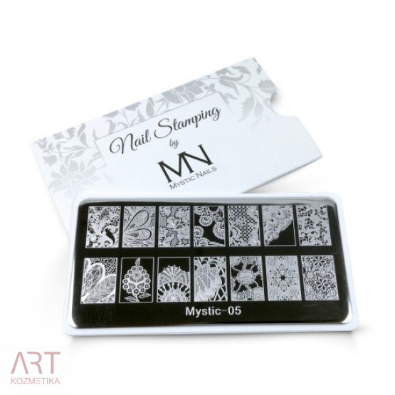 VT - MN Nail Stamping Plate 05