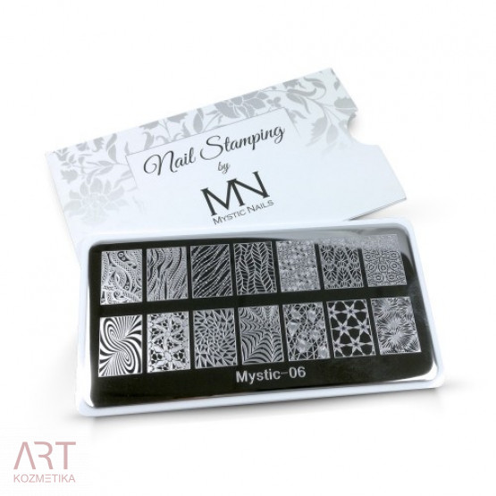 VT - MN Nail Stamping Plate 06