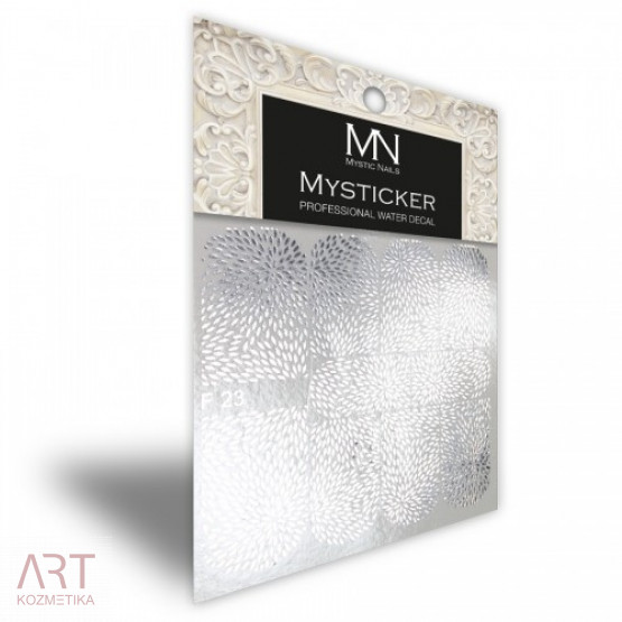 VT - Mystic Nails Mysticker F23 Silver