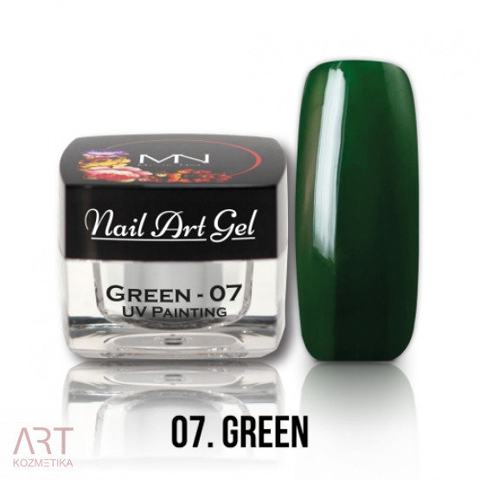 VT - Mystic Nails UV Painting Nail Art Gel 07 Green 4g