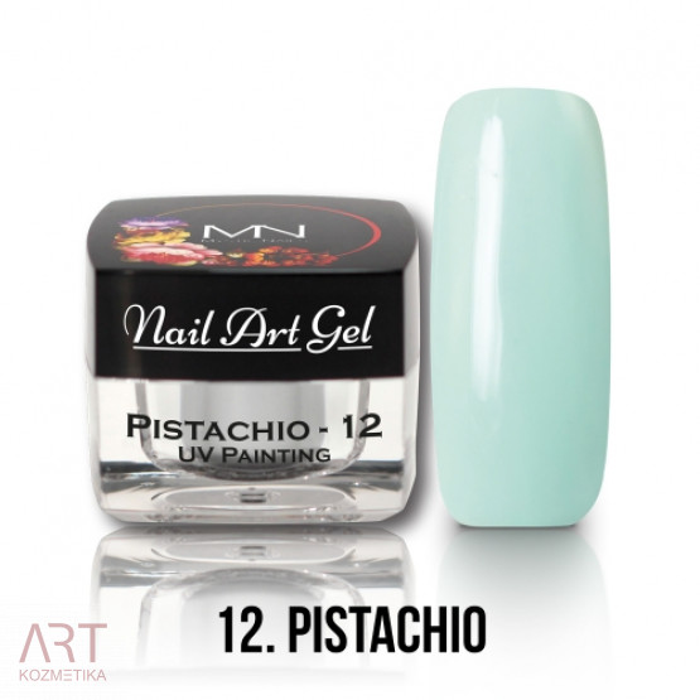 VT - Mystic Nails UV Painting Nail Art Gel 12 Pistachio 4g