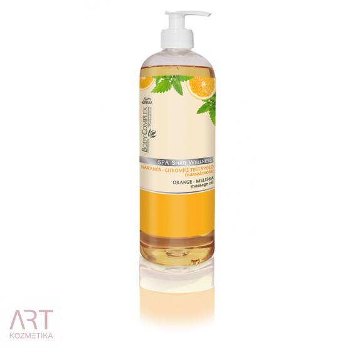 Spa Spirit wellness orange - melissa massage oil | Spa Spirit wellness masažno olje pomaranče in melise 1000 ml