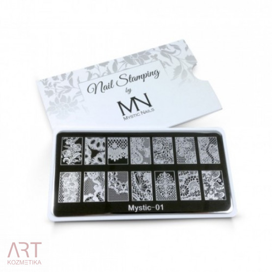 VT - MN Nail Stamping Plate 01