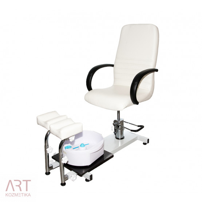 Stol za pedikuro 3820wb + darilo: masažna banjica za namakanje nog