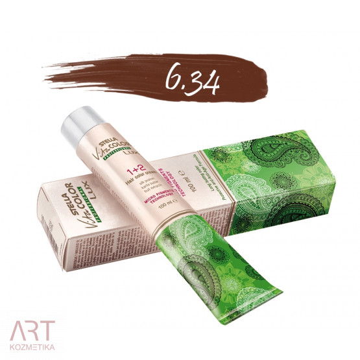 Vita Color Lux profesionalna barva za lase z nizko vsebnostjo amonijaka 100ml   6.34