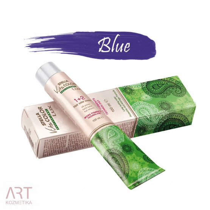 Vita Color Lux profesionalna barva za lase z nizko vsebnostjo amonijaka 100ml | Modra