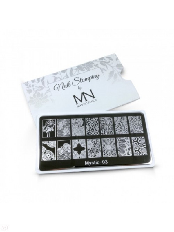 VT - MN Nail Stamping Plate 03