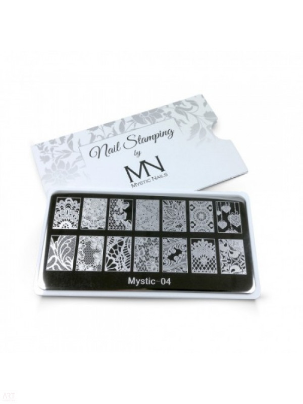 VT - MN Nail Stamping Plate 04