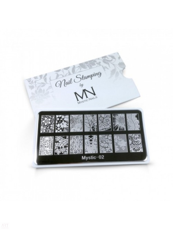 VT - MN Nail Stamping Plate 02