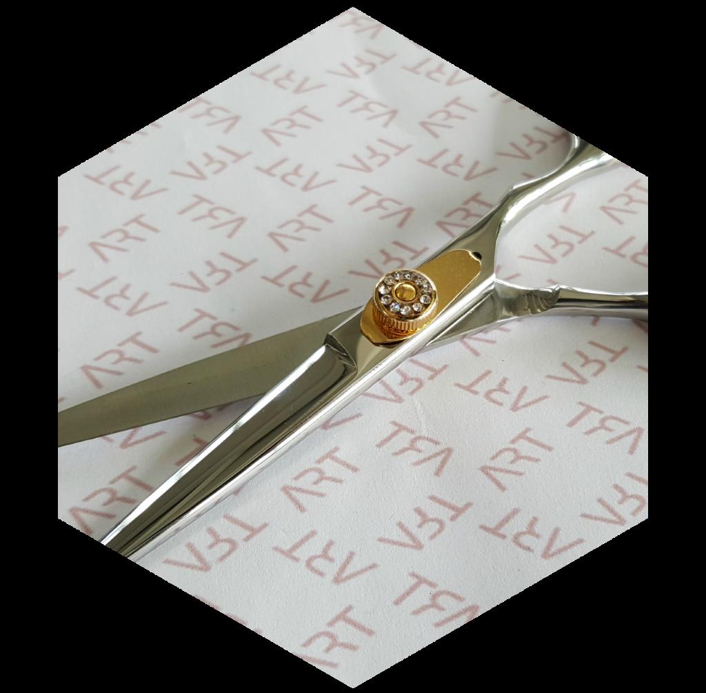 Frizerske škarje Diamant mehanizem