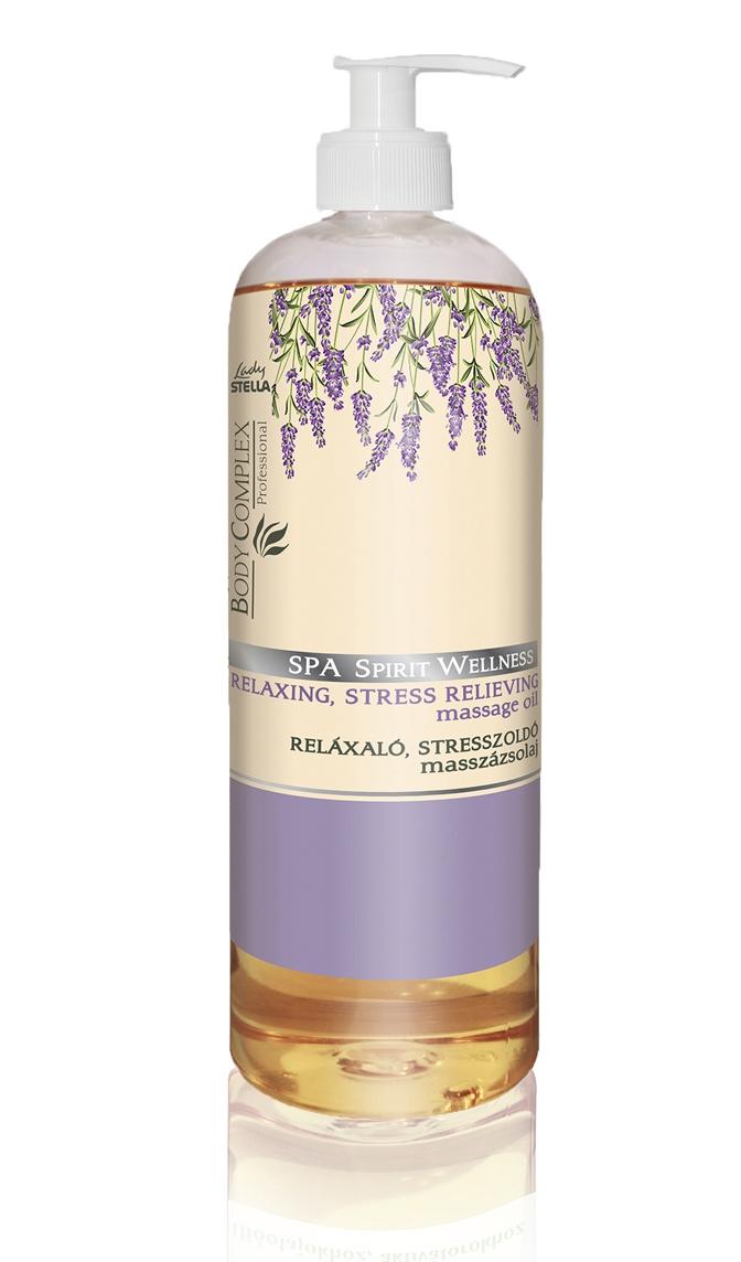 Spa Spirit wellness masažno olje za sproščanje in lajšanje stresa 1000ml