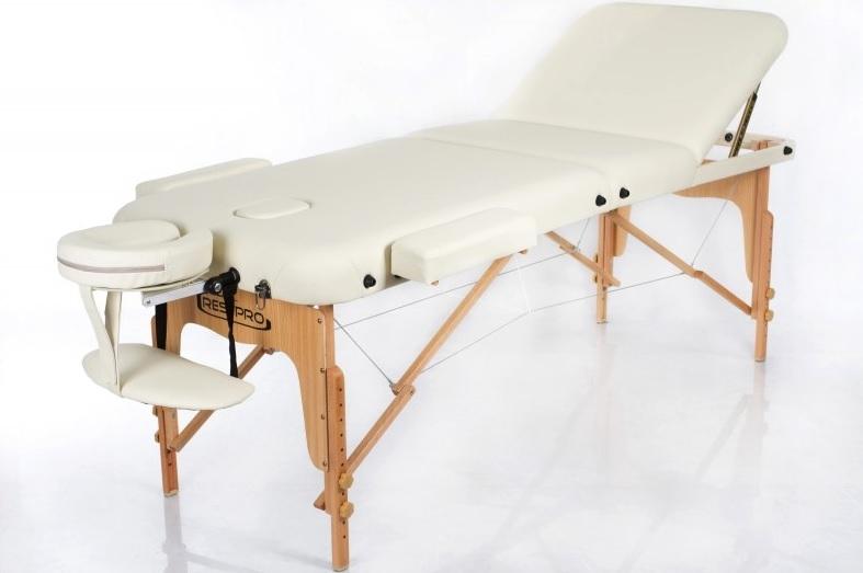 Prenosna masažna miza VIP 3 Cream