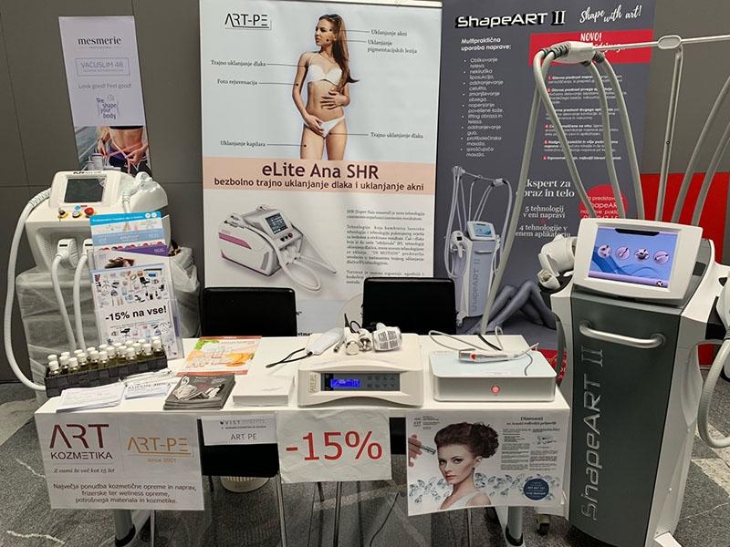 ART-PE je razstavljal na 9. kongresu kozmetike in velnesa