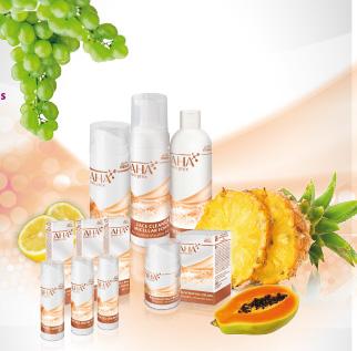izdelki s sadnimi kislinami za vse tipe kože