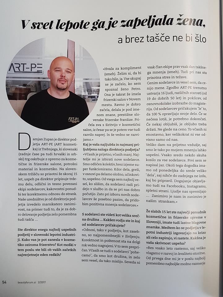 Intervju Damjan Zupan